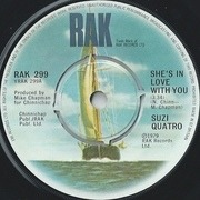 7'' - Suzi Quatro - She's In Love With You - Company Sleeve