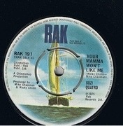 7'' - Suzi Quatro - Your Mamma Won't Like Me