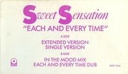 12'' - Sweet Sensation - Each And Every Time