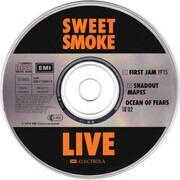 CD - Sweet Smoke - Sweet Smoke Live