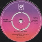 7'' - Sweet Sensation - Mr. Cool / Yes Miss, No Miss