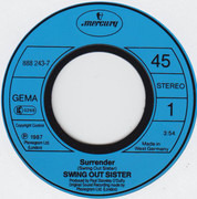 7inch Vinyl Single - Swing Out Sister - Surrender