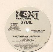 12'' - Sybil - Can't Wait (On Tomorrow) - Promo