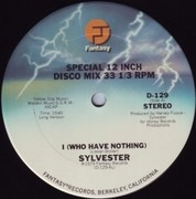12inch Vinyl Single - Sylvester - I (Who Have Nothing)
