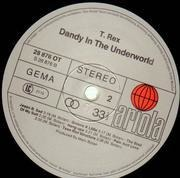 LP - T. Rex - Dandy In The Underworld - Die cut sleeve