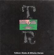 LP - T. Rex - Ride A White Swan - First Press, FOC