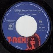 7'' - T. Rex - Telegram Sam / Cadilac