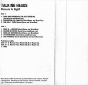MC - Talking Heads - Remain In Light - Dolby HX-Pro