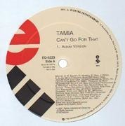 12'' - Tamia - Can't Go For That - Promo