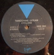 LP - Tangerine Dream - Cyclone