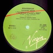 LP - Tangerine Dream - Stratosfear - ITALIAN PRESS