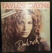 12inch Vinyl Single - Taylor Dayne - Don't Rush Me