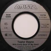 7inch Vinyl Single - Taylor Dayne - With Every Beat Of My Heart