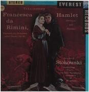 LP - Tchaikovsky (Stokowski) - Francesca Da Rimini - Hamlet