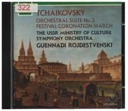 CD - Tchaikovsky - Suite No 3 / Coronation March