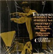 Double LP - Tchaikovsky - Symphony No. 5 / Symphony No. 6 Pathetique - Still Sealed