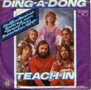 7inch Vinyl Single - Teach-In - Ding-A-Dong / Let Me In