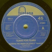 7inch Vinyl Single - Tears For Fears - Sowing The Seeds Of Love - Paper Generic Labels