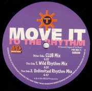 12inch Vinyl Single - Technotronic - Move It To The Rhythm