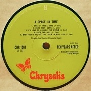 LP - Ten Years After - A Space In Time - UK GREEN Chrysalis