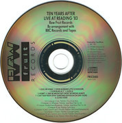 CD - Ten Years After - Live At Reading '83 (The Friday Rock Show Sessions)