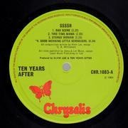 LP - Ten Years After - Ssssh.