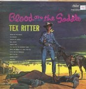 LP - Tex Ritter With Music By Paul Sells - Blood On The Saddle