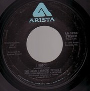 7inch Vinyl Single - The Alan Parsons Project - Don't Let It Show / I Robot