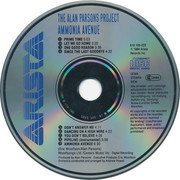 CD - The Alan Parsons Project - Ammonia Avenue