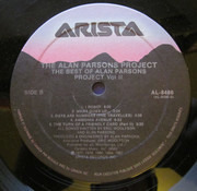 LP - The Alan Parsons Project - The Best Of The Alan Parsons Project Volume 2