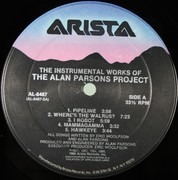 LP - The Alan Parsons Project - The Instrumental Works - still sealed