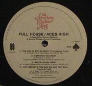 Double LP - The Amazing Rhythm Aces - Full House / Aces High