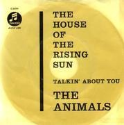 7'' - The Animals - The House Of The Rising Sun