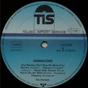 LP - The Animals - Animalisms