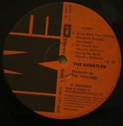 LP - The Apostles - Honey - Rare Afro Funk