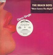 12inch Vinyl Single - The Beach Boys - Here Comes The Night - Blue Transparent Vinyl