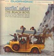 LP - The Beach Boys - Surfin' Safari - ORIGINAL 1st GER STEREO