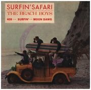 7inch Vinyl Single - The Beach Boys - Surfin' Safari - Original French EP