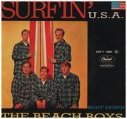7inch Vinyl Single - The Beach Boys - Surfin' U.S.A. - Original French EP
