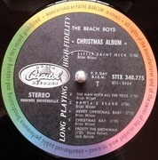 LP - The Beach Boys - The Beach Boys' Christmas Album - France
