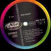 LP - The Beach Boys - Wild Honey