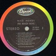 LP - The Beach Boys - Wild Honey - Scranton Pressing