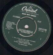 7inch Vinyl Single - The Beach Boys - Beach Boys Concert - EP