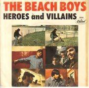 7inch Vinyl Single - The Beach Boys - Heroes And Villains - Original Swedish