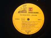 LP - The Beach Boys - Holland - + 7'