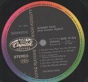 LP - The Beach Boys - Summer Days (And Summer Nights!!)