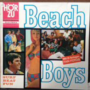 LP - The Beach Boys - Surf Beat Fun - Greenish label