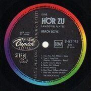 LP - The Beach Boys - Surf Beat Fun - Original German