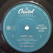 7inch Vinyl Single - The Beach Boys - Surfer Girl