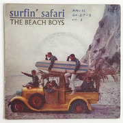 7inch Vinyl Single - The Beach Boys - Surfin' Safari